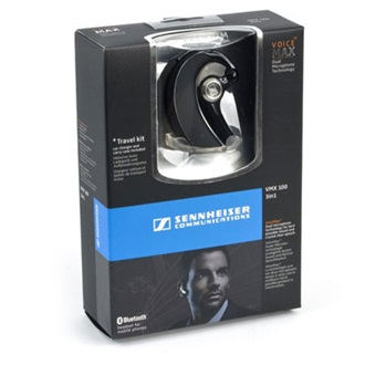 Sennheiser VMX 100 High End Mobile Bluetooth Headset Kit in Black, EU version