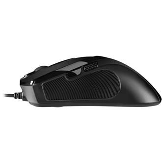 Sharkoon FireGlider Black USB lézeres gamer egér fekete