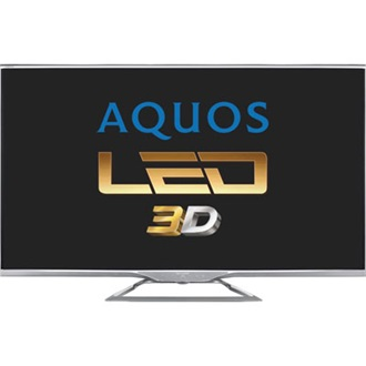 "Sharp LC60LE752E 60"" LED smart 3D TV"