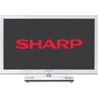 "SHARP LC24LE250VWH 24"" LED TV"