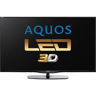 "SHARP LC50LE652V 50"" LED smart 3D TV"