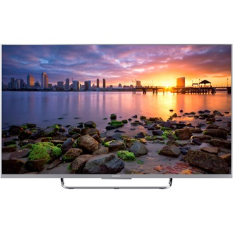 "Sony KDL43W756CSAEP ANDROID SMART 16GB ezüst TV LCD 43"" FHD LED"
