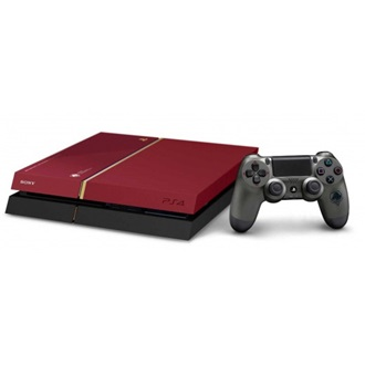Sony PlayStation 4 500GB piros + Metal Gear Solid V Limited Edition