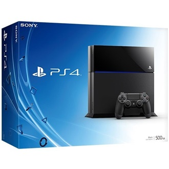 Sony Playstation 4 500GB fekete