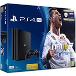 Sony PlayStation 4 Pro 1000GB játékkonzol + FIFA 18 + PlayStation Plus 14day