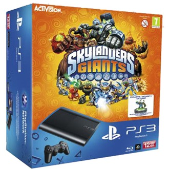 SONY PlayStation 3 12GB fekete + Skylanders + Peripheral