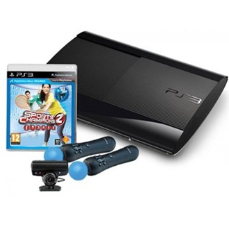 SONY PlayStation 3 12GB fekete