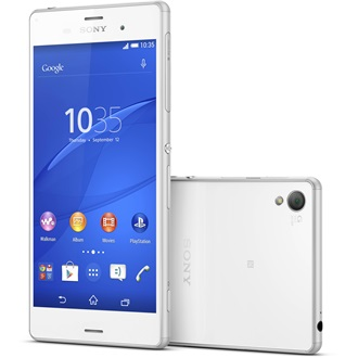 Sony Xperia Z3, White (Android)