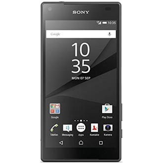 Sony Xperia Z5 Compact, Black (Android)