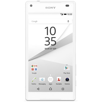 Sony Xperia Z5 Compact, White (Android)
