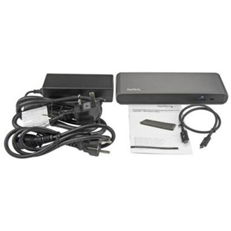StarTech DOCKING STATION THUNDERBOLD3 F. LAPTOP MAC + WINDOWS DUAL 4K