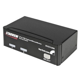 StarTech Professional 2 portos USB2.0 KVM switch