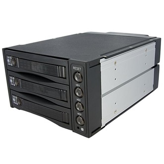 Startech.com 3 HARD DRIVE MOBILE RACK