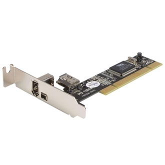Startech.com 3 PORT PCI LP FIREWIRE CARD
