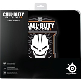 Steelseries QcK COD:Black Ops II Badge gamer egérpad fekete
