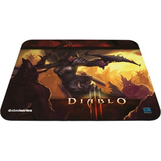 Steelseries QcK Diablo 3 Demon Hunter Edition gamer egérpad mintás