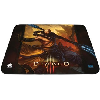 Steelseries QcK Diablo 3 Monk Edition gamer egérpad mintás