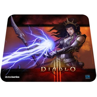 Steelseries QcK Diablo 3 Wizard Edition  gamer egérpad mintás