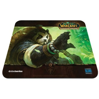 Steelseries QcK Mists of Pandaria Forest Edition gamer egérpad mintás