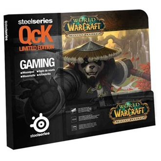 Steelseries QCK Mists of Pandaria Monk Edition gamer egérpad mintás