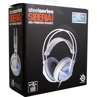 STEELSERIES Siberia V2 stereo fejhallgató fehér-kék - JTC    A ... 835881d62e