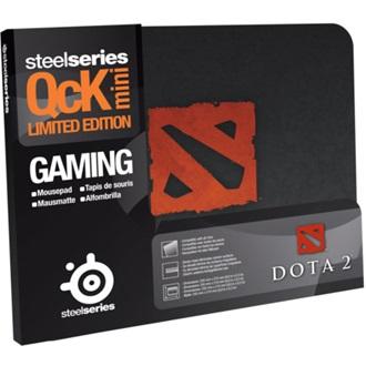 Steelseries QCK mini Dota2 Edition gamer egérpad fekete