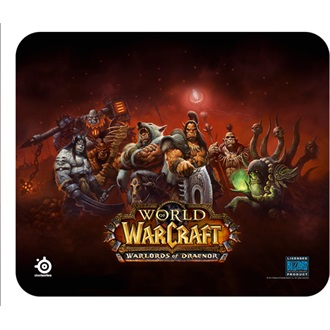 Steelseries QcK Warlords of Draenor Edition gamer egérpad mintás