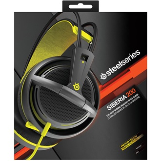 Steelseries Siberia 200 2.0 gaming headset sárga