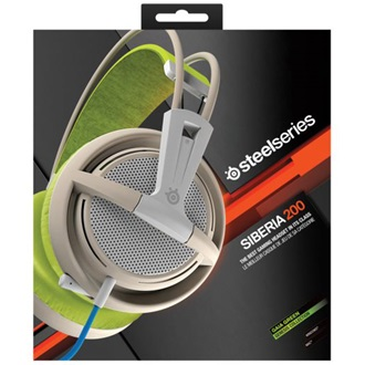 Steelseries Siberia 200 2.0 gaming headset zöld