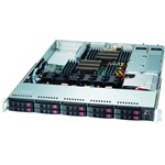 Supermicro 1027R-WC1RT 1U rack szerver
