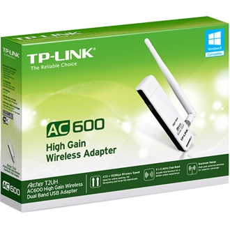 TP-LINK ARCHER T2UH AC600 Dual Band High Gain Wireless USB Adapter