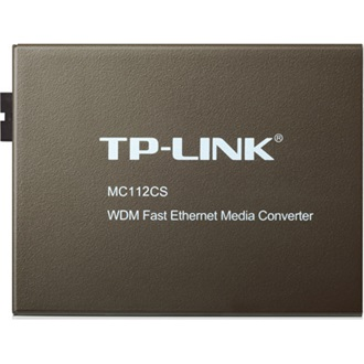 TP-Link MC112CS single-mode 100M fiber konverter