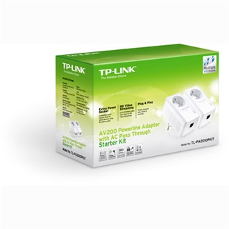 TP-Link TL-PA2010P KIT 220V 200Mbps powerline adapter
