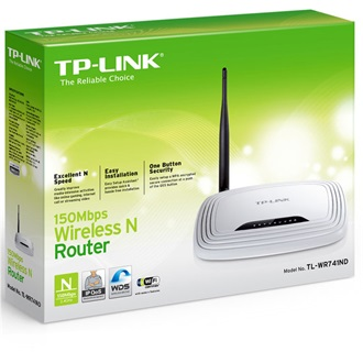 TP-Link TL-WR741ND WI-FI router
