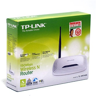 TP-Link TL-WR740N WI-FI router