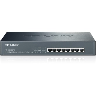 TP-Link TL-SG1008PE PoE rack switch