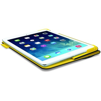 Logitech FabricSkin Keyboard Folio US for iPad Air - Grey / Yellow