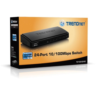 TRENDnet TE100-S24D switch