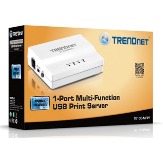 TRENDnet TE100-MFP1 print server