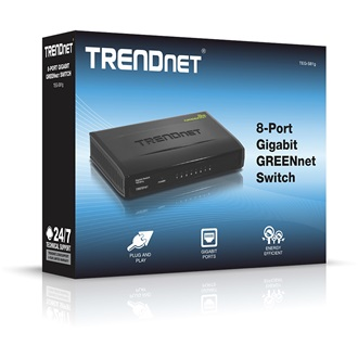 TRENDnet TEG-S81G 8-Port Gigabit GREENnet switch