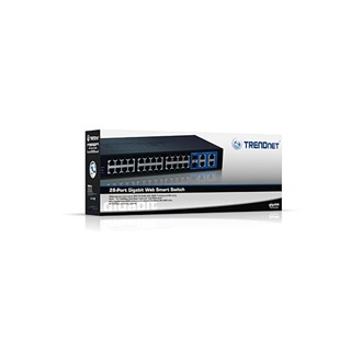 TRENDnet TEG-424WS 24-Port 10/100 Mbps Web Smart rack switch