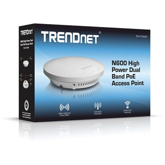 TRENDnet TEW-753DAP N600 Dual Band WI-FI PoE access point