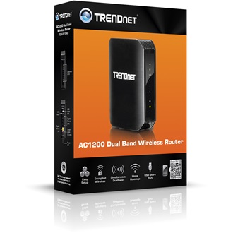 TRENDnet TEW-811DRU AC1200 Dual Band WI-FI router