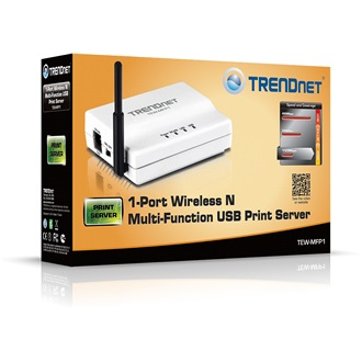 TRENDnet TEW-MFP1 Multi-Function USB WI-FI print server