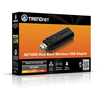 TRENDnet TEW-805UB USB3.0 867Mbps AC1200 Wi-Fi adapter Dual Band