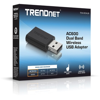 TRENDnet TEW-804UB USB2.0 433Mbps AC600 Wi-Fi adapter Dual Band