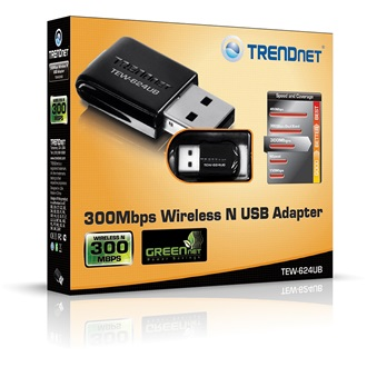 TRENDnet TEW-624UB USB2.0 300Mbps Wi-Fi adapter