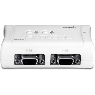 TRENDnet TK-209K 2 portos USB2.0 KVM switch audio porttal