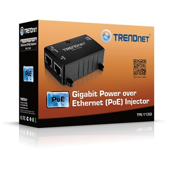 TRENDnet TPE-113GI 10/100/1000Mbps Power over Ethernet Injector