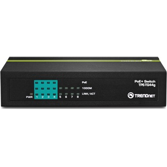 TRENDnet TPE-TG44g 8-Port GREENnet Gigabit PoE switch